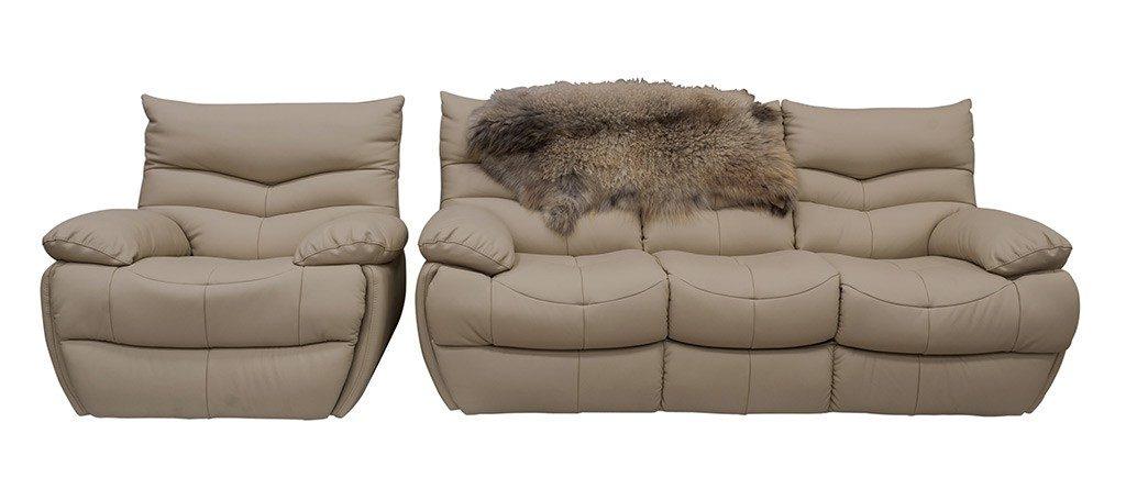 Кожаная мягкая мебель Монтана